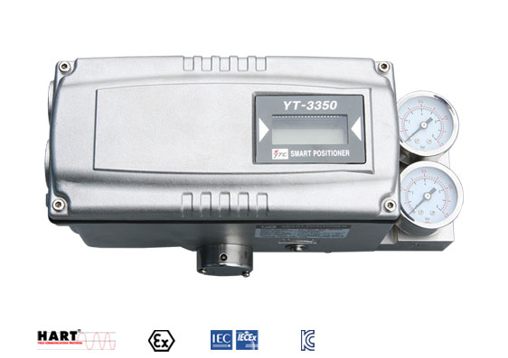 YT-3350: Smart Positioner (Intrinsically Safe Type) (Stainless steel type)